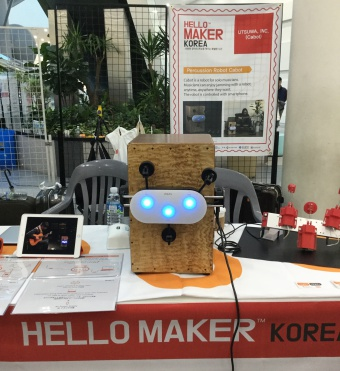 Exhibited at Hello Maker Korea in Busan!